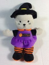 Just One You Witch Kitty Cat My First Halloween Plush Rattle Soft Toy Carters