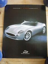 Jaguar F-Type Concept - original official dealer small poster