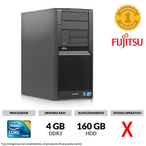 ORDENADOR FUJITSU CELSIUS W370 MT INTEL CORE 2 DUO 2,60GHz 4GB RAM 160GB HDD
