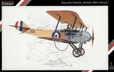 """SPECIAL Hobby 1/48 SOPWITH TABLOID """"britannica WWI Scout"""" # 48011"""