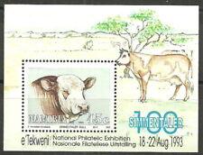 Namibia - 100 Jahre Simmentaler Rinder Block 18 postfrisch 1993 Mi. 741