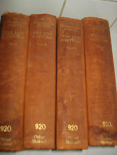 The Brontes Their Lives, Friendships & Correspondence in  4 volumes,1932 h/b/s