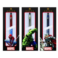 Cross Marvel Edition Click Ballpoint Pen - Choose from Spider Man, Hulk, Thor