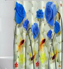 Shower Curtain Hooks Set Bathroom Toilet Bathtub Shower Cover Art Decor Painting
