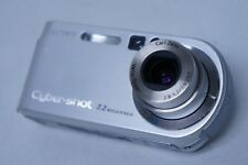 Sony Cyber-shot DSC-P200 7.2MP Digital Camera - Silver