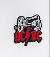 AC/DC   PATCH ECUSSON Patch thermocollant   ACDC  AC DC canon