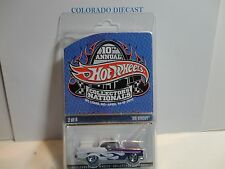 10th Annual Hot Wheels Nationals Purple/White '56 Chevy Bel Air  in Protecto