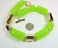 """Retro Vintage Chunky beaded Statement Necklace Beads 35mm toggle clasp 20"""""""