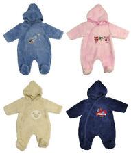 Baby Boy Girl Snowsuit All In One Fluffy Fleece Newborn 0-3 Month 3-6 Month