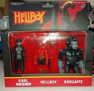 Super7 ReAction Hellboy Pack A Karl Kroenen Kriegaffe