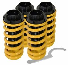 96-00 CIVIC DEL SOL YELLOW CONVERSION COILOVER SLEEVE KIT FULL ADJUSTABLE SPRING