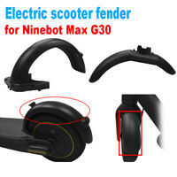 Front Rear Fender Mudguard Replacements for NINEBOT MAx G30 Electric Scooter YAN
