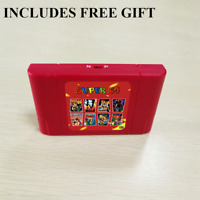 RETRO Super N64 Game Cartridge 340 IN 1 Video Game N64 Console REGION FREE NEW