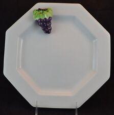 Mikasa Octagonal Plate Grape Chablis Raised 3-D Grape Cluster Octagonal Plate