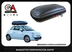 Box Baule Tetto Auto Portatutto Portapacchi universale 320 litri porta bagagli