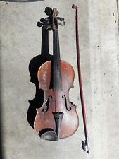 Antique Violin Joseph Guarnerius Fecit Cremonae ano 1736 IHS Restore Or Parts