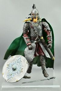 Lord of the Rings Rohirrim Soldier with Spear Two Towers LOTR Toybiz