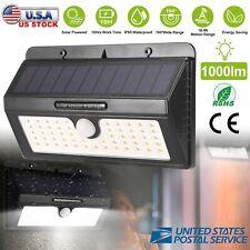55 LED Outdoor Solar Lights Motion Sensor Wall Light Waterproof Garden Yard Lamp