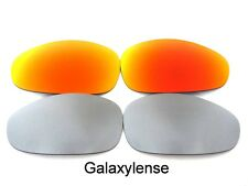 Galaxy Replacement Lenses For Oakley Juliet Sunglasses Titanium&Red Polarize 2PS