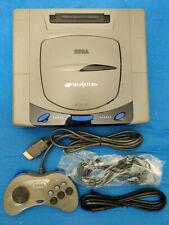 Sega Saturn Console Rhea PHOEBE GDEMU PSIO revision and 128 GB SD Card inside