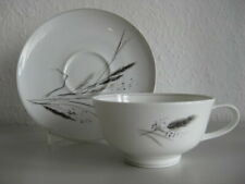 Rosenthal Form E ♥ R. Loewy ♥  Ährenmotiv ♥ Teetasse & Untertasse ♥