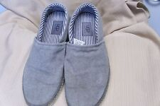 Men's UGG S/N 1000725 gray canvas slip on shoes size 9
