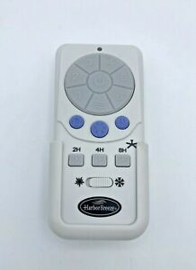 Harbor Breeze Ceiling Fan and Light Remote Control Model A25-TX012 Excellent
