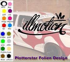 Illmotion Illest JDM Sticker Adhesivo OEM PS Power Fun Shocker