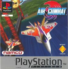 PS1 AIR COMBAT GAME DISC for PlayStation 1 VERY GOOD CONDITION