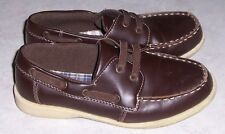 ROUTE 66 Fredric Boys Size 1 Brown Loafers Slip On Shoes