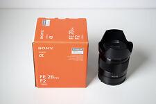Sony SEL 28mm f2 FE Lens - full frame, E mount