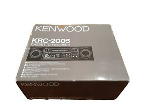 Vintage Kenwood KRC-2005 * Cassette Receiver Player * New In Box * Discontinued