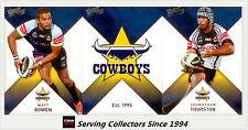 2011 Select NRL Strike Trading Cards Base Team Set Cowboys (12)