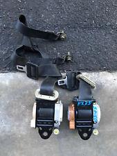 Infiniti Fx35-Fx45-Front Seat Belts-Black Color-OEM-2003-2004-2005