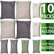 Air Purifying Bag 10 Pack Nature Fresh Style Charcoal Bamboo Purifier Deodorizer