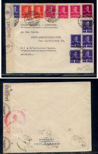 Romania  German  censor cover  to  Austria