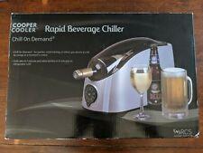 Cooper Cooler Rapid Beverage & Wine Chiller Silver