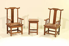 1/6 Wood Table Chair Furniture Set Barbie Diorama Living Room Fashion Royalty 12