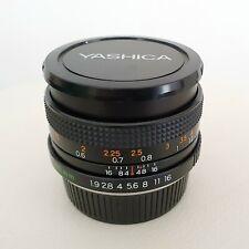 Yashica ML 50 mm f/1.9. Excellent état global optique et cosmétique !