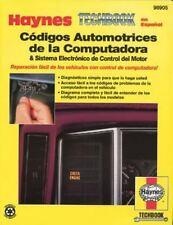 Codigos automotrices de la computadora and sistema electronico de control del mo