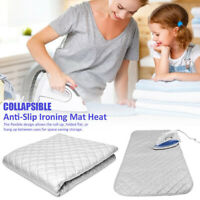 Ironing Mat Washer Dryer Cover Board Laundry Pad Heat Resistant Blanket PET