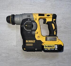 DEWALT DCH273N 18V XR SDS Plus Brushless Hammer Drill + 5ah battery