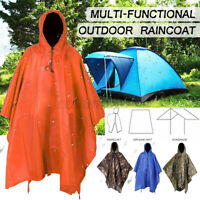 Overalls Waterproof Raincoat Lightweight Work Hooded Long Coat Raincoat climbing