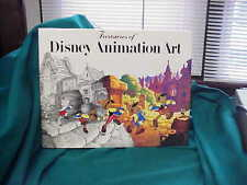 Disney preowned Animation hard cover book dated 1982