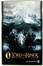 NEW ZEALAND LORD OF THE RINGS RETURN OF THE KING STAMP BOOKLET MINT 2003 FRODO