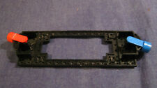 LEGO Eisenbahn alt 4,5V / 12V Lokplatte Magnet Rahmenplatte Schwarz