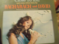 "Bacharach and David ""Close To You"" Longines Symphon Original LP SYS-5428 LWS-740"
