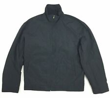 Dunhill Windbreaker Jacket Black - Men's Size XL