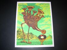 "EMEK Handbill Print KOLN 2007 Queens of the Stone Age BLUE SKUL 10.5/"" poster art"