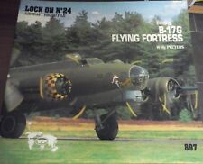 B-17G FLYING FORTRESS-LOCK ON N.24 AIRCRAFT PHOTO FILE -VERLINDEN PRODUCTS